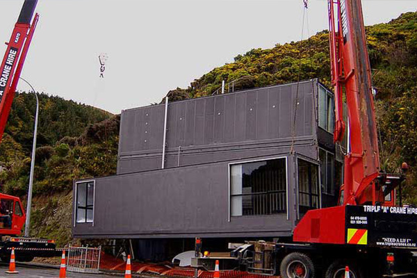 Container house works: Wellington Container house