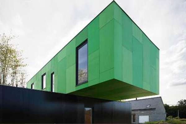 Container Mobile Home: Cross Shape Container Home