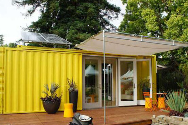 Container Mobile Home Creative Architecture Design: Sunset Idea House